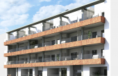 LMCN17395, Torrevieja 3 bed 2 bath south facing apartment under construction