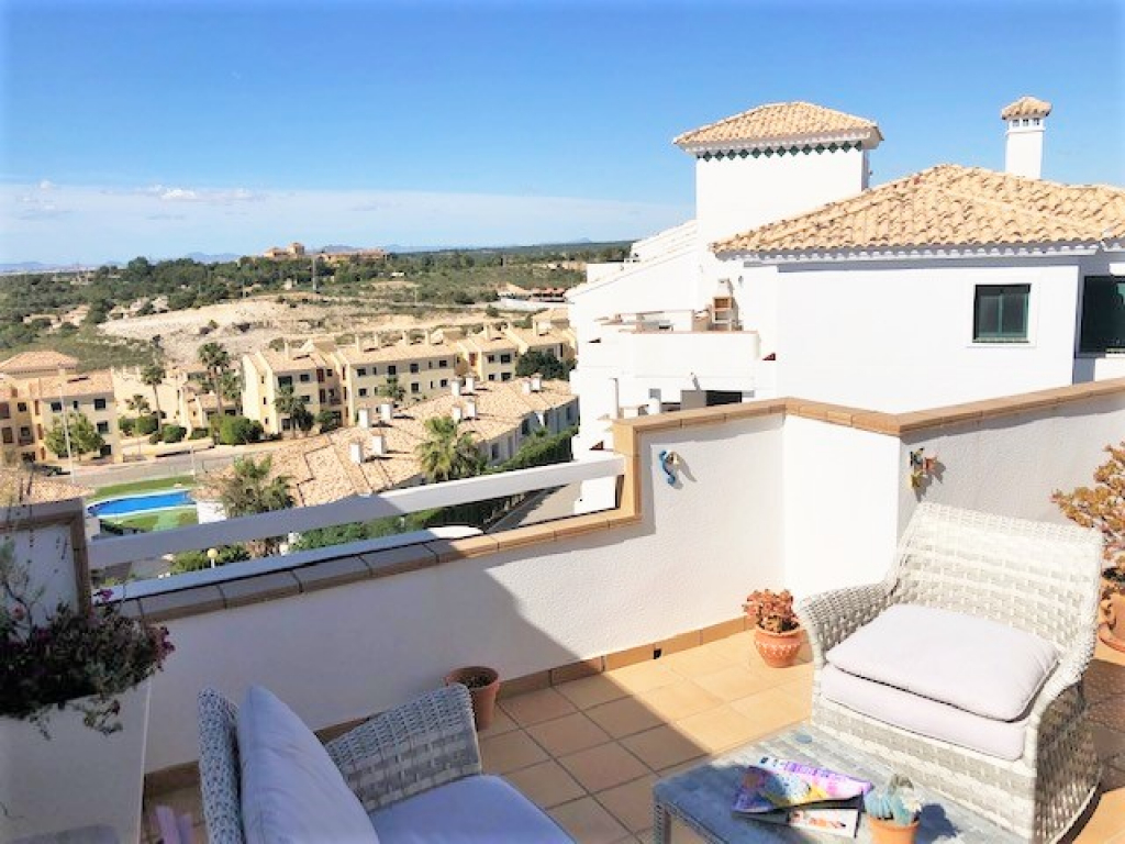 2 Bedroom 2 Bathroom Penthouse Apartment in Campoamor
