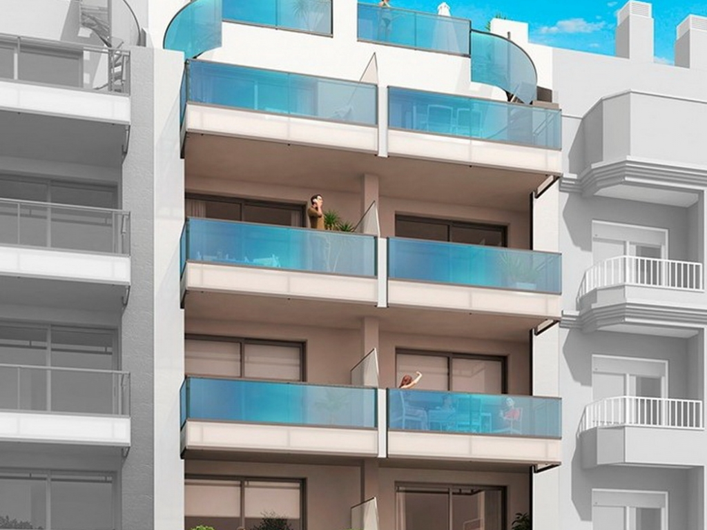2 bed 2 bath apartment in Torrevieja