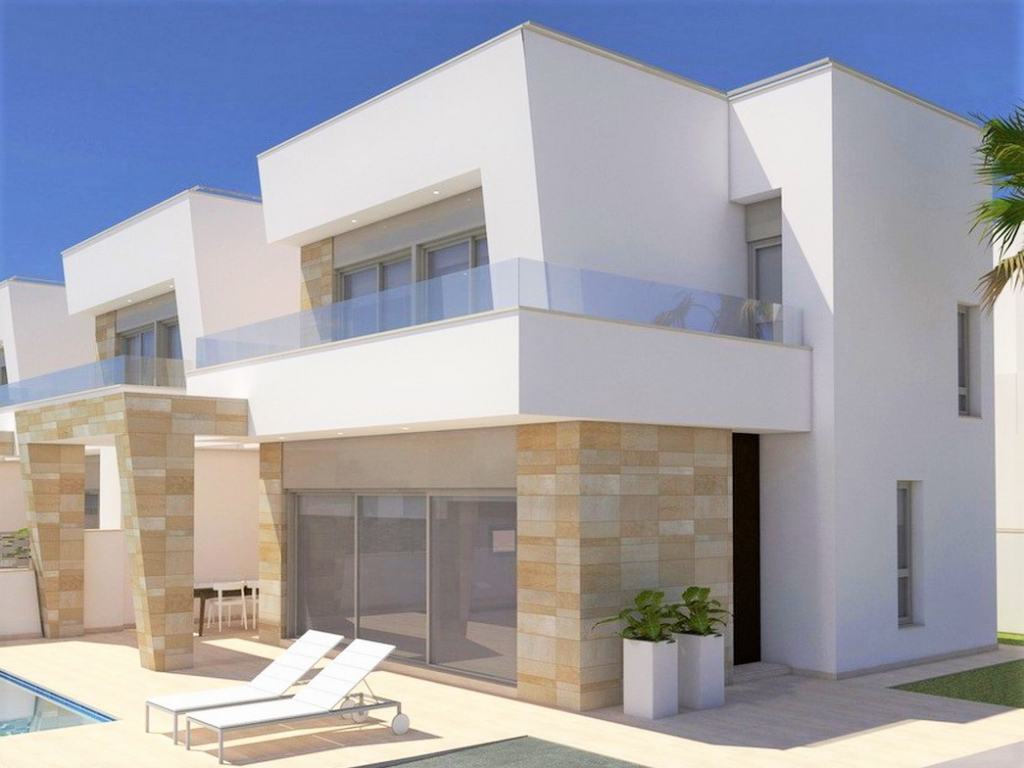 3 bed 3 bath New Build Villa with Private Pool