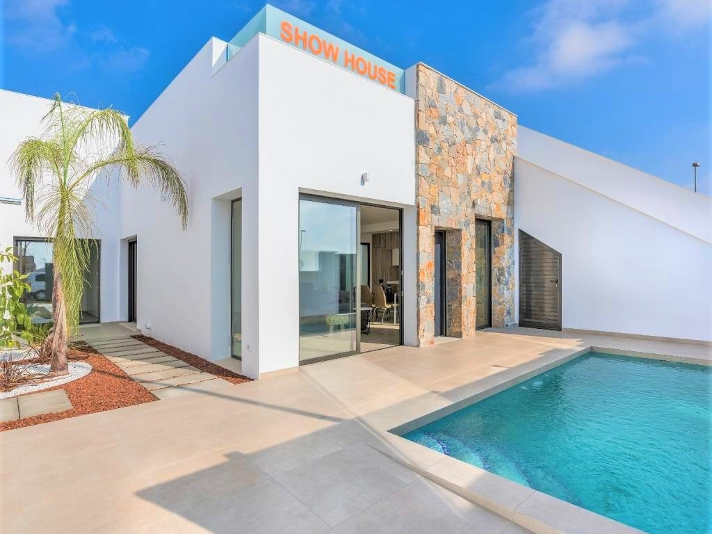 3 bed 2 bath New Build Villa in Pilar Horadada
